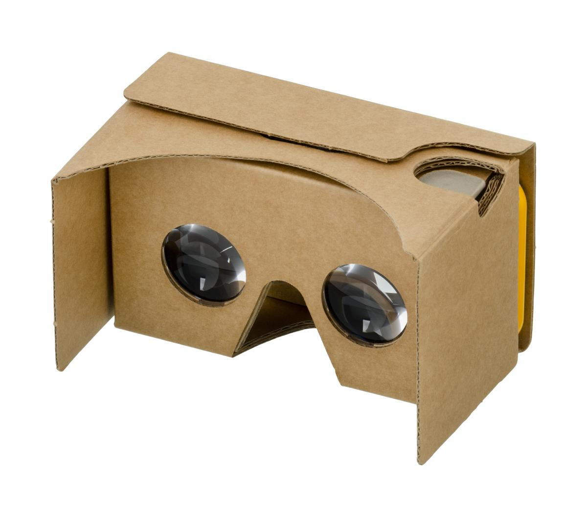 virtual reality cardbox goggles