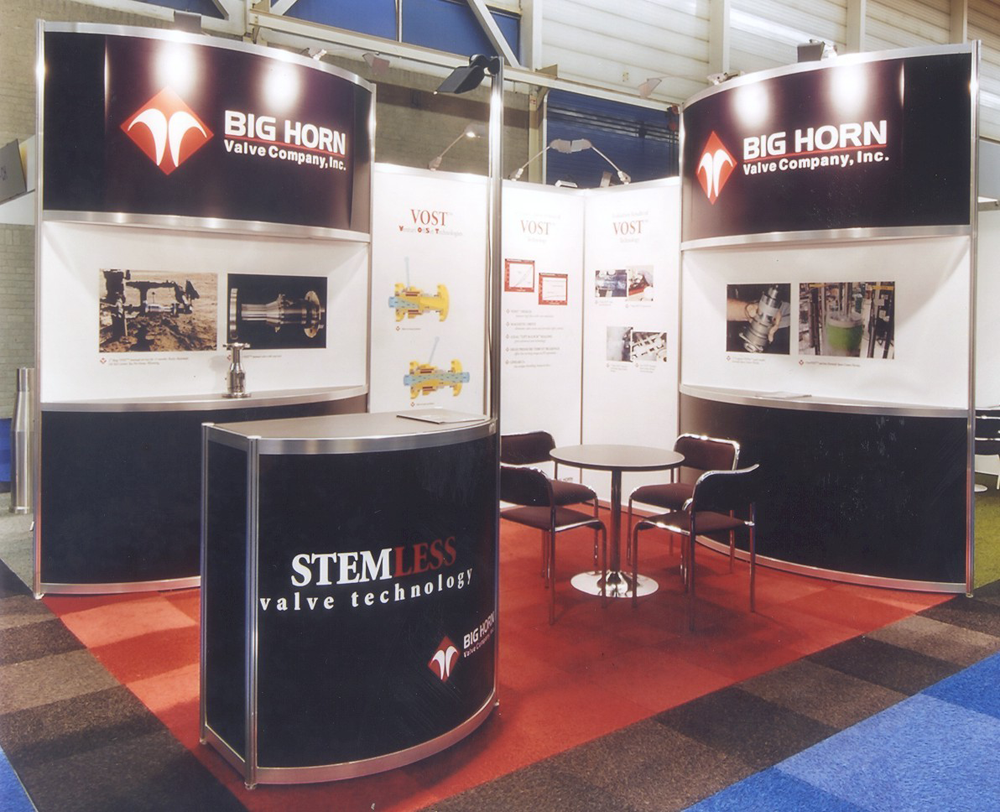 Big Horn Valve | Global Exhibit Management