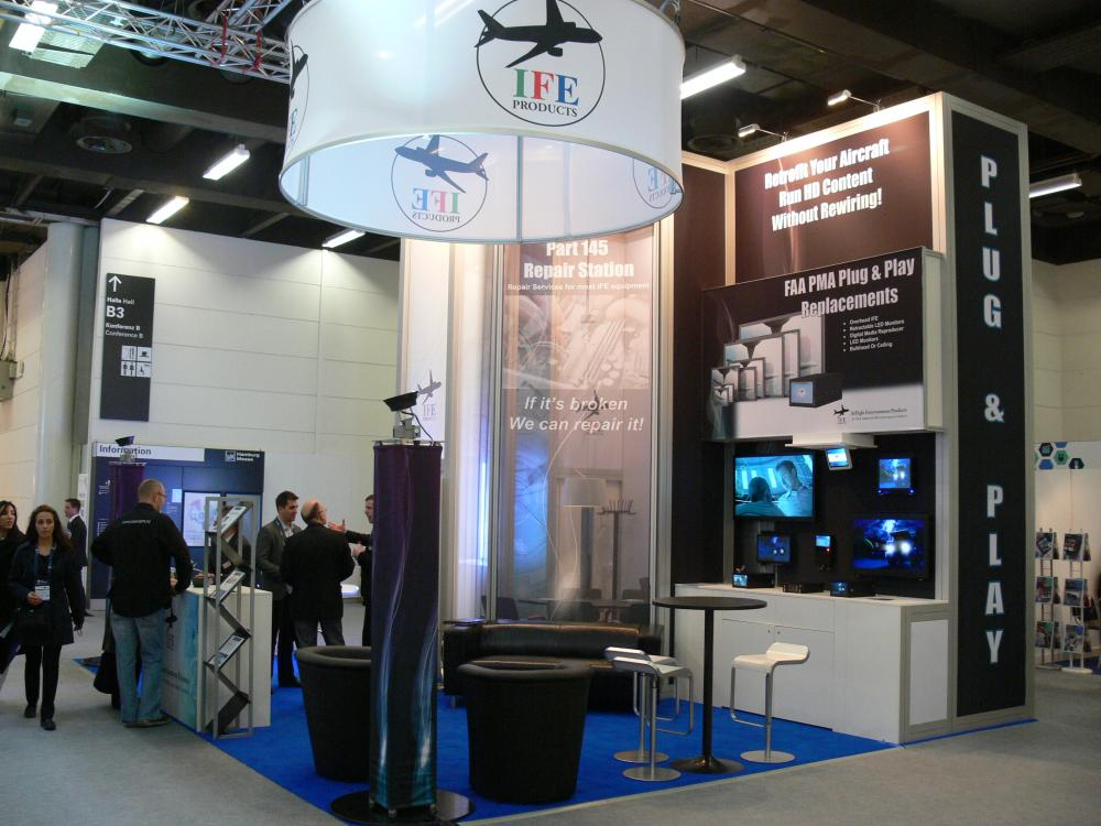 InFlight Entertainment Products - Aircraft Interiors Expo- Hamburg, Germany