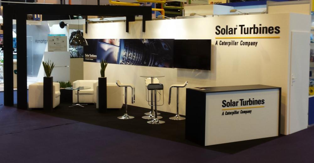 Solar Turbines - World Gas Congress - Paris, France