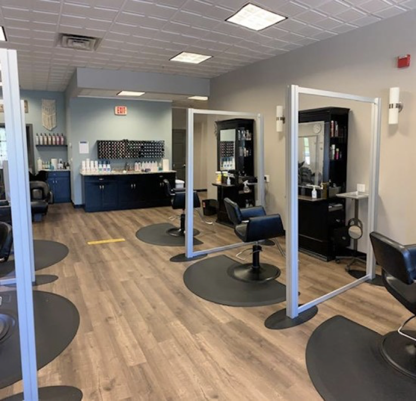 Placelyft separating salon booths
