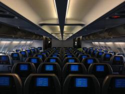 airplane interior: tips for long flights