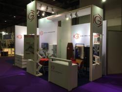 Gill Corporation display at the AIME in Dubai, UAE