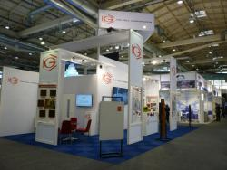Image of Gill Corporation exhibit at the Aircraft Interiors Expo in Hamburg, Germany